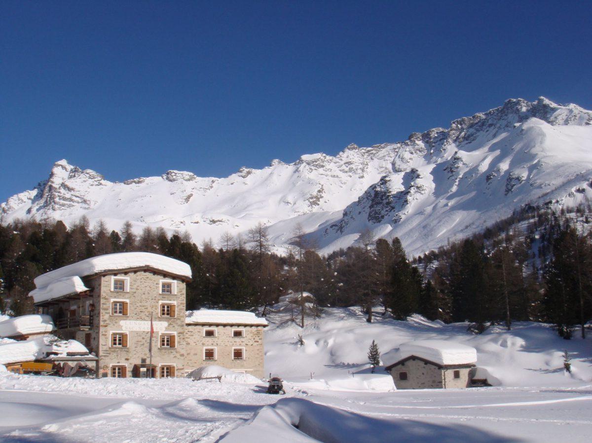 Domenica 4 Febbraio 2018: Rifugio Saoseo, Lago e Passo Val Viola