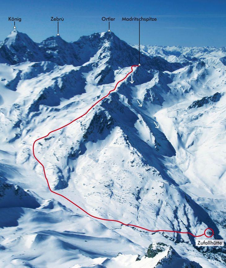 21- 22 APRILE: WEEK END IN VAL MARTELLO: PUNTA MANDRICCIO(3265m)