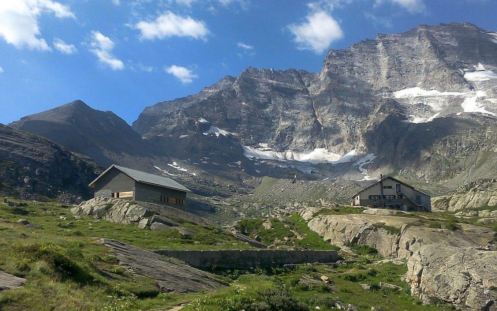 DOMENICA 22 LUGLIO: Rifugio Jervis(2280m)-Colle Nel(2569m)-Cima delle Fasce(2854m)