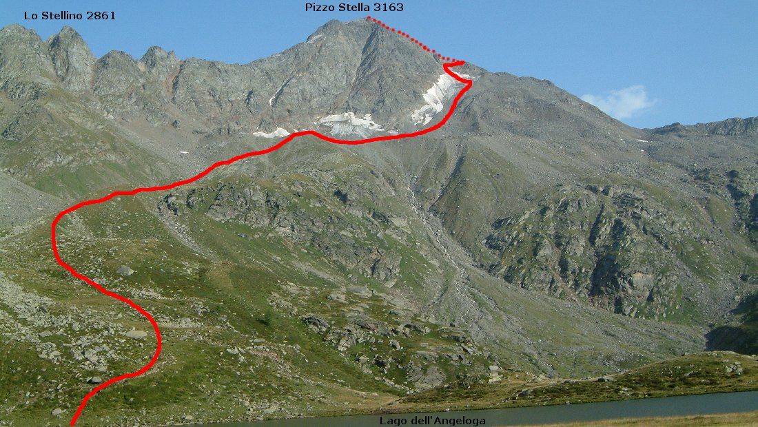 21\22 Settembre 2019 : PIZZO STELLA 3163m(Val Chiavenna)